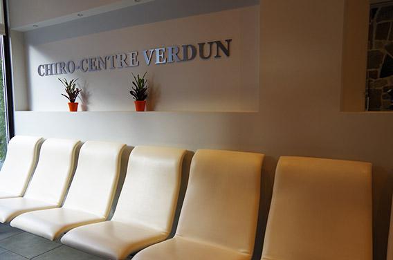 Salle attente chiro centre verdun